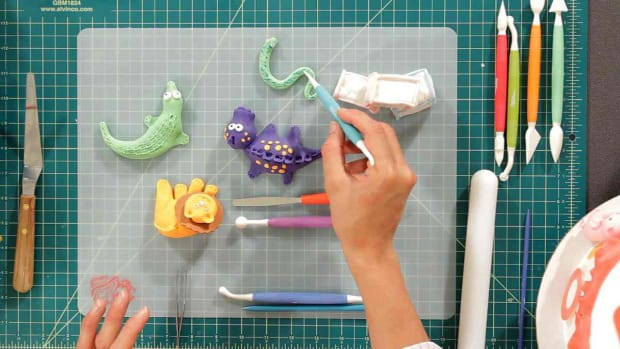 ZC. Fondant Tools & Ingredients Promo Image
