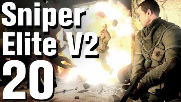 T. Sniper Elite V2 Walkthrough Part 20 - St. Olibartus Church Promo Image