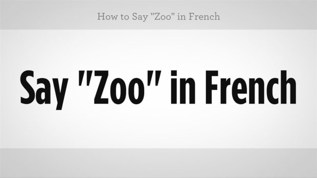 "ZZT. How to Say ""Zoo"" in French Promo Image"