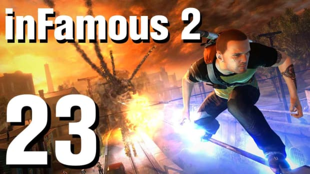 W. inFamous 2 Walkthrough Part 23: Storm the Fort (1 of 2) Promo Image