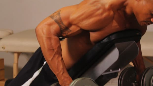 J. How to Do a Prone Bench Row for a Back Workout Promo Image