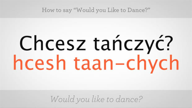 "ZZB. How to Say ""Would You Like to Dance"" in Polish Promo Image"