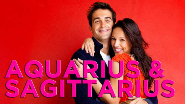 ZZZP. Are Sagittarius & Aquarius Compatible? Promo Image