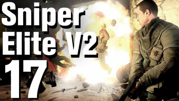 Q. Sniper Elite V2 Walkthrough Part 17 - Opernplatz Promo Image
