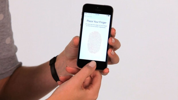 A. How to Set the New Touch ID on an iPhone Promo Image