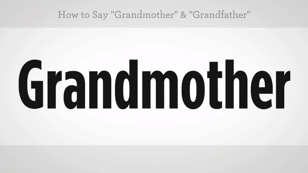 "ZS. How to Say ""Grandmother"" & ""Grandfather"" in Mandarin Chinese Promo Image"