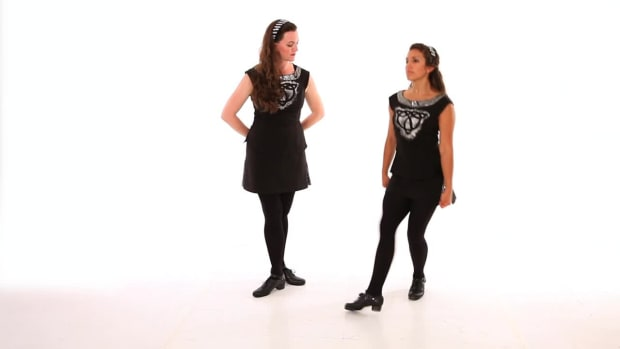ZG. How to Do Running Trebles in Irish Step Dancing Promo Image