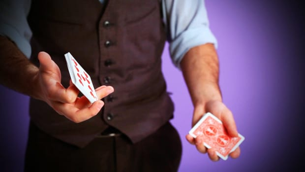 X. How to Do the Packet Toss Card Trick Promo Image