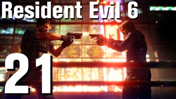 U. Resident Evil 6 Walkthrough Part 21 - Chapter 2 Promo Image