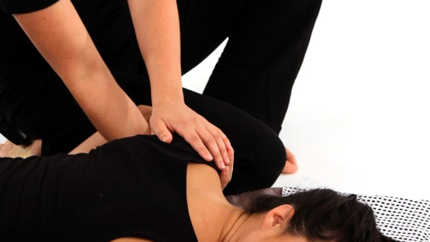 P. How to Rotate Shoulder Blades with Shiatsu Massage Promo Image