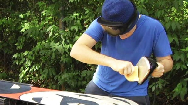 E. How to Wax a Snowboard Promo Image