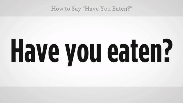 "ZZZC. How to Say ""Have You Eaten"" in Mandarin Chinese Promo Image"
