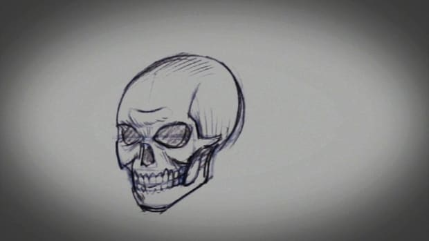 E. How to Draw a Skull Promo Image