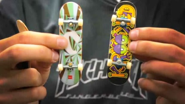 B. How to Pick a Fingerboarding Tech Deck Promo Image