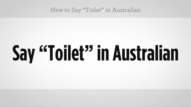 "T. How to Say ""Toilet"" in Australian Slang Promo Image"