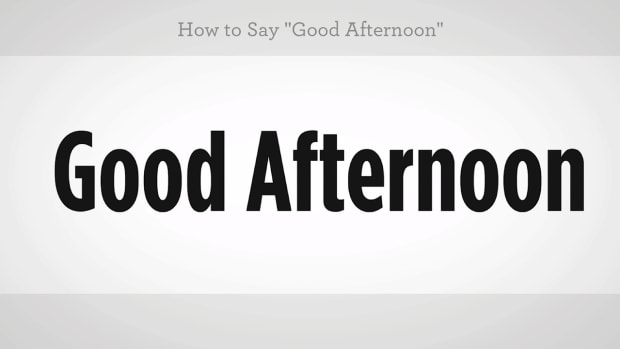 "L. How to Say ""Good Afternoon"" in Mandarin Chinese Promo Image"