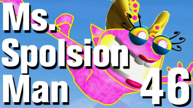ZT. Ms. Splosion Man Walkthrough: Level 3-9B (Secret Exit) Promo Image