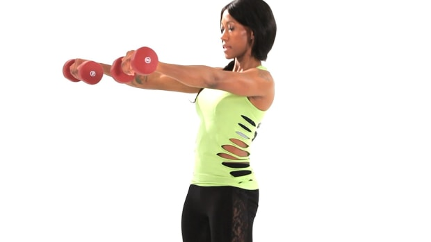 ZB. How to Do a Double Arm Swing Plyometric Exercise Promo Image