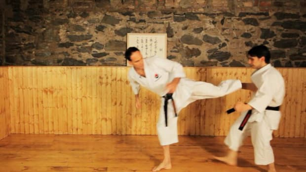P. How to Do Side Kicks in Karate Promo Image