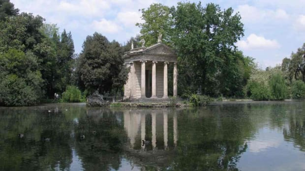 I. Visiting Villa Borghese in Rome Promo Image