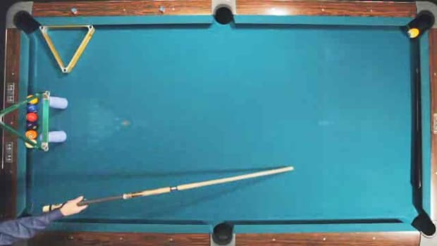 "ZW. How to Do the ""Stroke Jump"" Advanced Pool Trick Shot Promo Image"