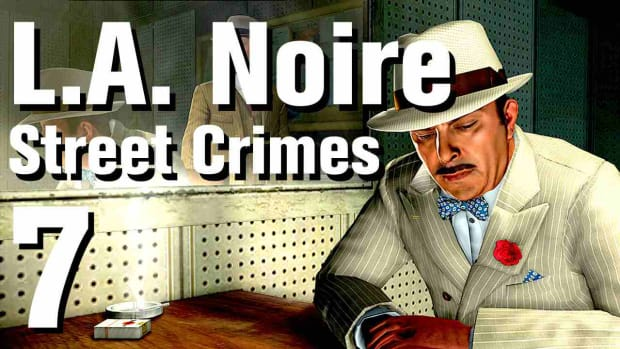 "G. L.A. Noire Walkthrough Street Crimes 07: ""Death From Above"" Promo Image"