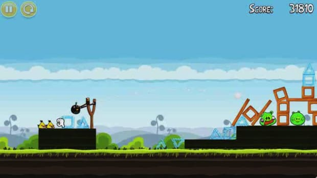 O. Angry Birds Level 4-15 Walkthrough Promo Image