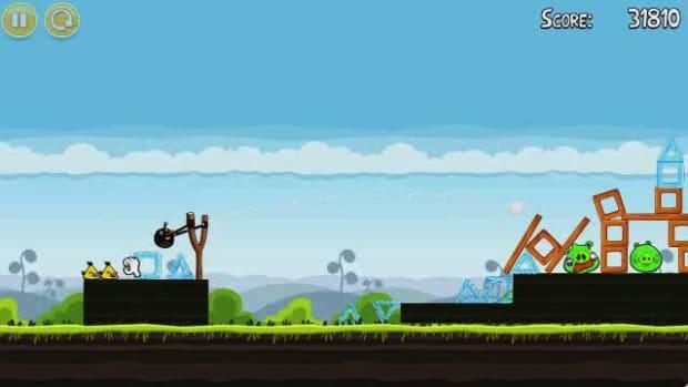 O. Angry Birds Level 4-15 Walkthrough Promo Image