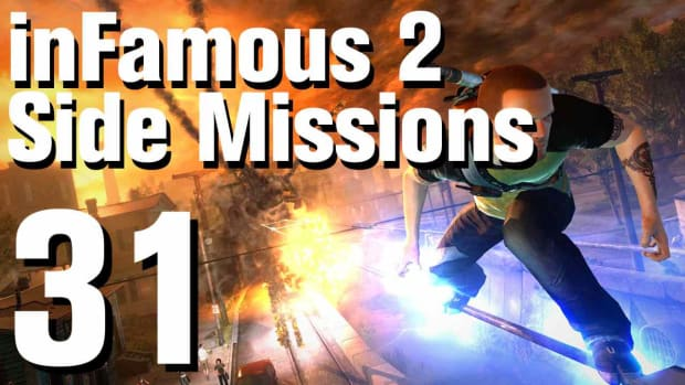 ZZY. inFamous 2 Walkthrough Side Missions Part 31: Enemy Surveillance 2 Promo Image