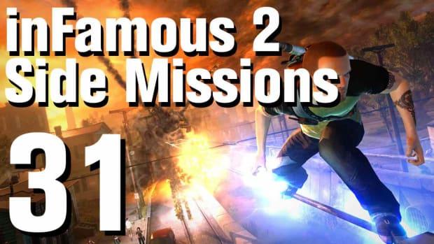 ZZY. inFamous 2 Walkthrough Side Missions Part 31: Enemy Surveillance 2 Promo Image