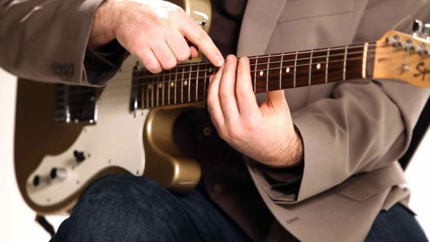 S. How to Play Barre Chord Inversions in Fingerstyle Guitar Promo Image