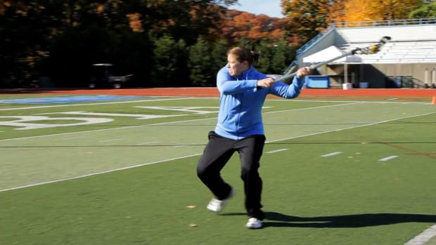 ZB. How to Shoot Overhand in Women's Lacrosse Promo Image