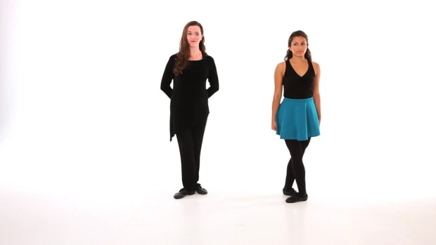 Y. How to Do a Lead Around in Irish Step Dancing Promo Image