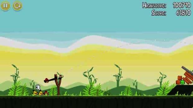 C. Angry Birds Level 2-3 Walkthrough Promo Image