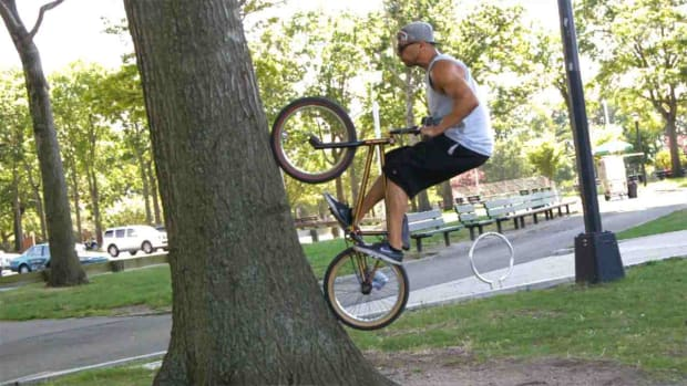 ZC. How to Do a Fakie Wall Ride on a BMX Promo Image
