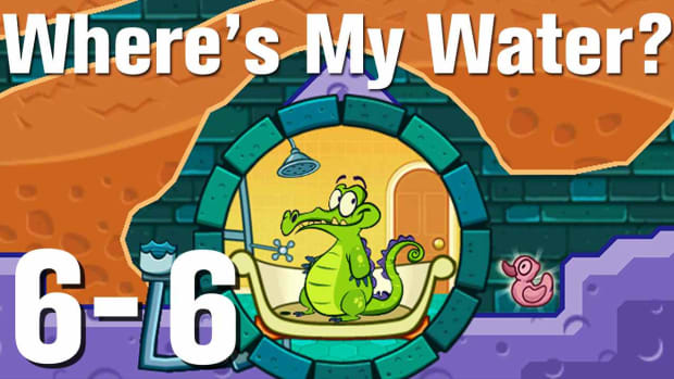 ZZZZB. Where's My Water Walkthrough Level 6-6 Promo Image