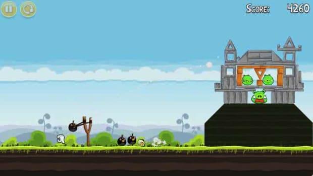 R. Angry Birds Level 4-18 Walkthrough Promo Image
