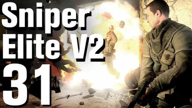 ZE. Sniper Elite V2 Walkthrough Part 31 - Karlshorst Command Post Promo Image
