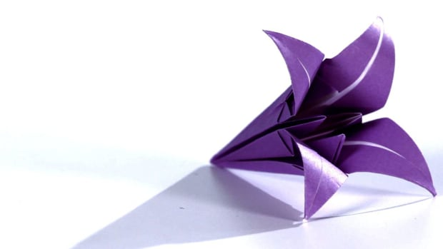 G. How to Make an Origami Lily Promo Image