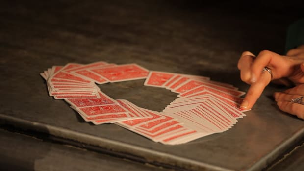 L. How to Do the 1 Ahead Prediction Card Trick Promo Image