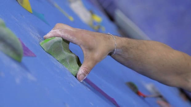 C. How to Grip Indoor Climbing Holds Promo Image