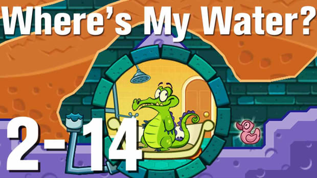 ZH. Where's My Water Walkthrough Level 2-14 Promo Image