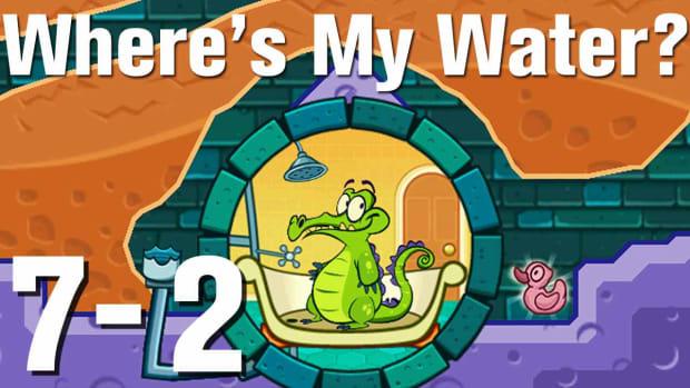 ZZZZR. Where's My Water Walkthrough Level 7-2 Promo Image
