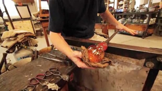 ZC. How to Prepare Newspaper for Heat Protection in Glassblowing Promo Image