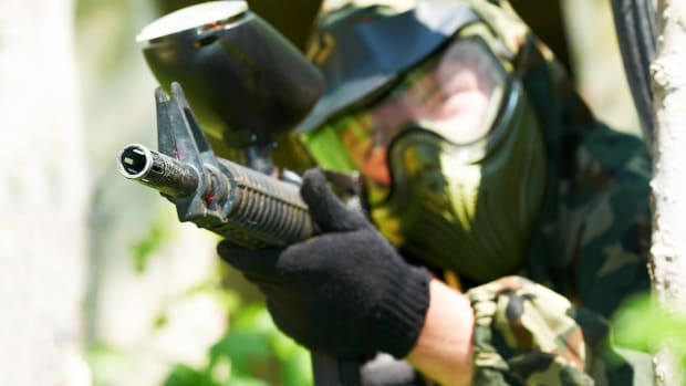 R. Compressed Air vs. CO2 in Paintball Promo Image