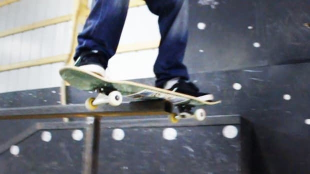 J. How to Do a Boardslide / Railslide on a Skateboard Promo Image