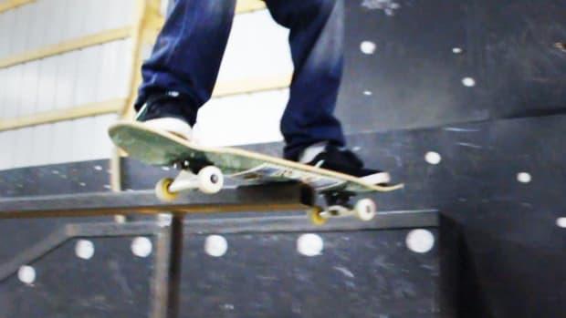 J. How to Do a Boardslide / Railslide on a Skateboard Promo Image