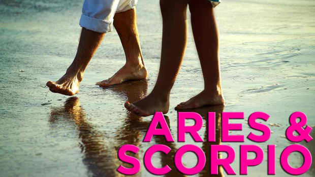 ZF. Are Aries & Scorpio Compatible? Promo Image