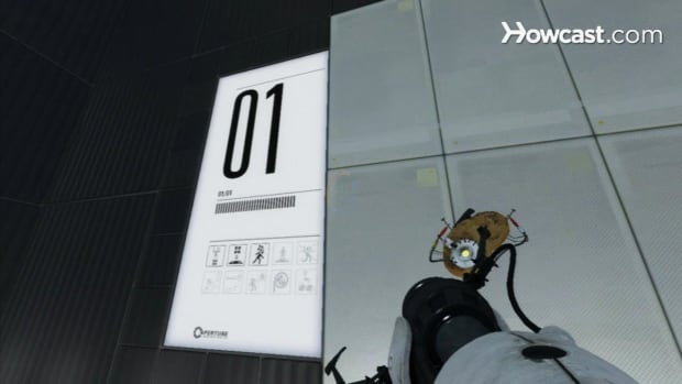 ZT. Portal 2 Walkthrough / Chapter 8 - Part 1: Room 01/01 - The Moat Promo Image