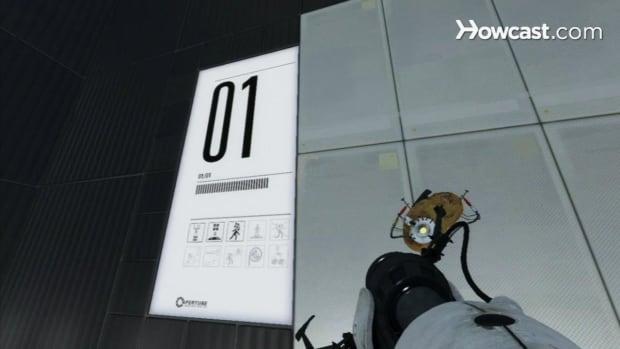 ZT. Portal 2 Walkthrough / Chapter 8 - Part 1: Room 01/01 - The Moat Promo Image